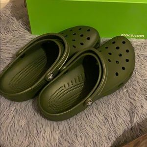 CROCS Shoes | Crocs Olive Green | Poshmark